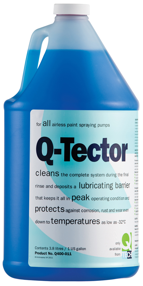 Q Tector Pump Conditioner 3 8ltr Tritech Airless