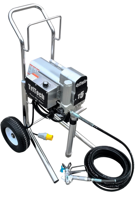 TriTech T5 Cart Electric Airless Sprayer