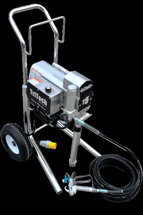 TriTech T5 Cart Electric Airless Sprayer